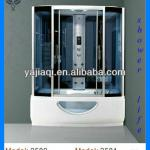 2013 big size rectangle whirlpool massage steam shower cabin with competitive price-shower cabin 2580
