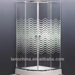 sliding luxury Modern whirlpool steam tempered glass bathroom shower enclosure-LN-6808