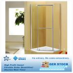 Pentagon Glass Shower Enclosure/Room PIVOT door 900x900x1930 BN-B150060077