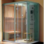 new style luxury multi-function 8mm tempered glass steam sauna shower room M-A6062-M-A6062