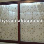 aluminium folding bathroom door,aluminium bathroom doors,pvc decorative bathroom doors-SHYOK060