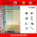Sliding Glass Shower Door With Handles-YK-A009
