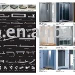 Aluminium shower door-