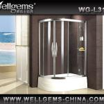 Sliding magnetic seal strip shower door L3108 with excellent quality and reasonable price-Shower door L3108