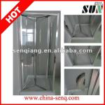 2014 special adjustable sliding Bifold door shower door-SHJ-LP-079