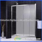 Frosted Tempered Shower Room Glass-F-10