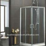 4mm - 10mm Custom Shower Enclosure Glass, Bathroom Door Frost Tempered Glass-4mm-19mm