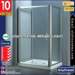 Aluminum Shower Door with tempered glass-