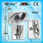 Stainless steel bathroom shower with head shower and hand shower-ABL203