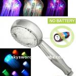 led light music rainfall shower head with multi-colors-RC-B1