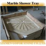 Top qualtiy natural stone shower base-Gofor- shower tray