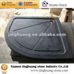 Black granite stone deep shower trays M16-JH-M16