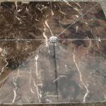 marble shower tray-brown marble