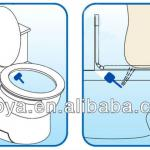 The SMALLEST and SMART bidet toilet in the world! --- Cold water non electrical micro bidet HS-B8100-HS-B8100