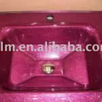 strange shape glass basin-LM004