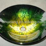 2013 Handicraft Glass Wash Basin, Vessel Sink, made in China-HL-1310