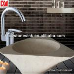 Natural bathroom Marble stone sink-DYSINK774