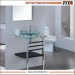 2013 new bathroom glass basin/wash basin-TB-067