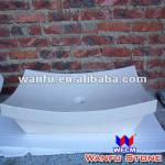 pure white colour decorative vessel sink-WF-1813