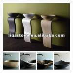 Beautiful Stone Pedestal Sinks with different colors-LIGA--Sink