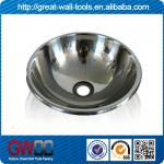 Mirror polishing round stainless steel sink-GW-003