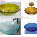 wash basin glass bowl-JD-004