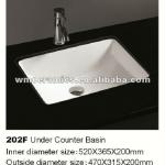 UPC square counter basin-202F
