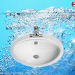 DISCOUNT PRICE!! Bathroom Counter Top Ceramic Wash Basin-GB029 ceramic wash basin