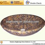 Blatic Brown Granite Sink Granite Basin Washbasin-