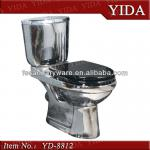 ceramic toilet in silvery color for hotel and KTV silver toilet-YD-8812