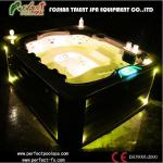 Backyard hot tub & outdoor spa for jacuzzi with 7 seating-Feast hot tub