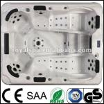 luxurious TV Balboa outdoor hot tub spa pool-Andes hot tub