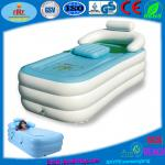 New Hot Sale Adult Spa PVC folding Portable bathtub inflatable bath tub-Adult Spa PVC folding Portable bathtub