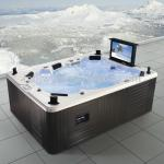 Indoor Hydrotherapy Hot Tub TV Waterproof Home Spa (HA-M3342)-HA-M3342