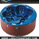 2013 Acrylic Whirlpool Massage Hot Deluxe Outdoor Spa-JS-011