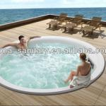 liquid acrylic latest style SPA & swimming massage bathtub-M001S