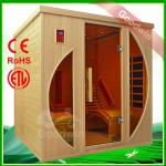 2014 New Product Cheapest Ceramic Far infrared Sauna heater Prefabricated full spectrum infrared Sauna Room with Chairs GW-YS101-GW-YS101