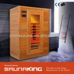 SaunaKing 2-person Infrared Sauna (FIR-022LC)-FIR-022LC