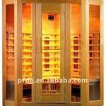 High Quality cedar & hemlock beautiful Infrared Sauna Room-PFD-004He