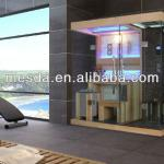 Royal style sauna steam room;steam shower sauna three-in-one room;new design sauna steam room-WS-1389