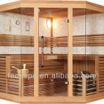 Traditional sauna room red cedar outdoor Finnish saunas manufacturing for distributor-FS-1221