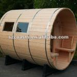 Canopy Barrel Sauna room-4 Canopy Barrel