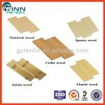Far infrared sauna room use sauna solid wood cedar, hemlock, spruce, abachi sauna wood-SCB