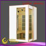 2013 New Style Carbon Heater CE GS ETL ROHS SAA C-tick ISO9001 Far Infrared Sauna Room L2V White panel-L2V