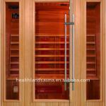 4 Person Hemlock & Ceramic Heater Sauna-HL-400 I