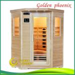 2013 New Far Infrared sauna Cabin Corner Sauna-G3CT
