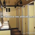 Container mobile toilet-