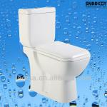 Economical popular wash down two piece toilet-HK-8098