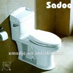 Chinese One-piece White Toilet-SD-2118