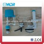 small size WC water tank pvc flush valves-WDR-013